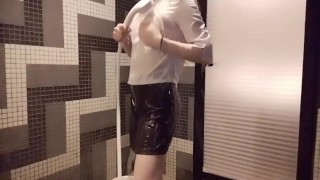 Japanese XXX :やっぱりスーツでシャワーオナニーするよね 個人撮影 素人 Wet and messy