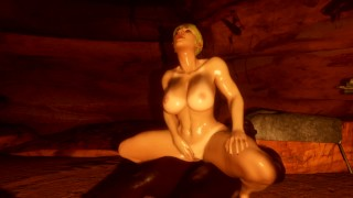Cartoon XXX :Princess of the Tribe had her ass fucked by a BBC