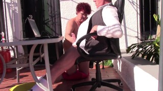 Mature XXX :Mommy and Daddy are Working from Home
